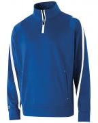 Holloway Youth Polyester ¼ Zip Determination Pullover