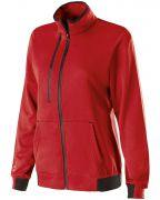 Holloway Ladies' Polyester Fleece Full Zip Artillery Jacket