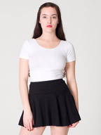 American Apparel® Women's Thick-Knit Jersey Skirt