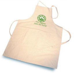 Organic 2-Pocket Cotton Apron