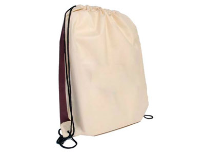 "Recycled Cinch Pack Drawstring Backpack -- 14"" x 17"""
