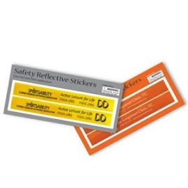Rectangular Reflective Safety Stickers