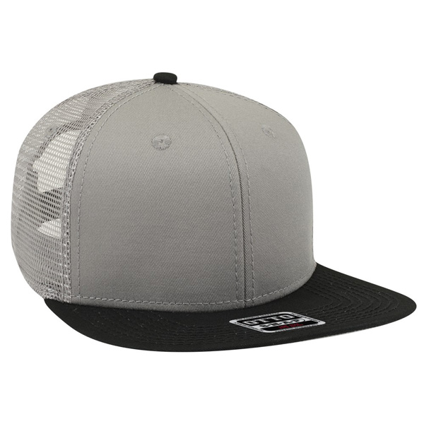 Otto snap six panel pro mesh back style cap