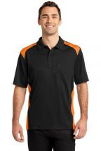 CornerStone® Select Snag-Proof Two Way Colorblock Pocket Polo