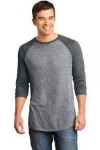 District® - Young Mens Microburn® 3/4-Sleeve Raglan Tee